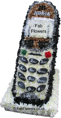 Floral Mobile Phone - Copyright Fab Flowers